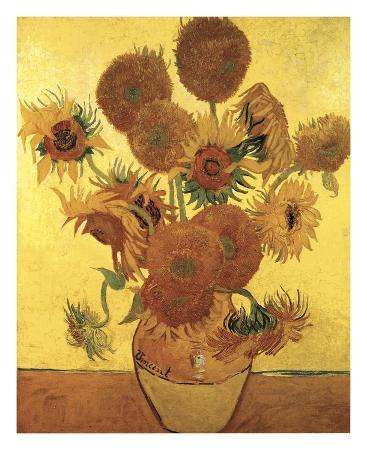 vincent-van-gogh-sunflowers-on-gold-1888
