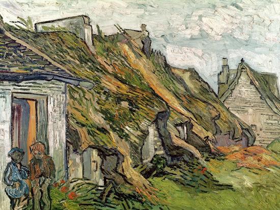 vincent-van-gogh-thatched-cottages-in-chaponval-auvers-sur-oise-c-1890