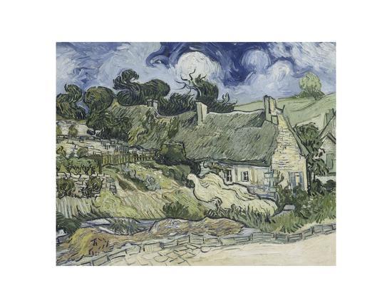 vincent-van-gogh-thatched-cottages-in-cordeville