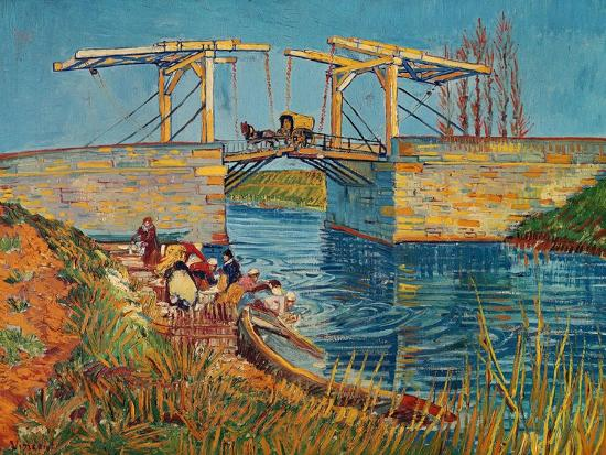 vincent-van-gogh-the-drawbridge-at-arles-with-a-group-of-washerwomen-c-1888