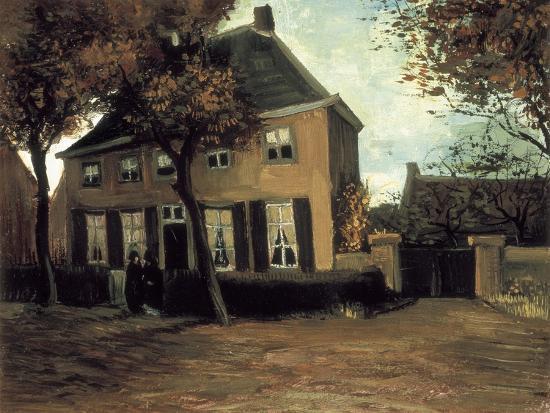vincent-van-gogh-the-parish-house-in-nuenen