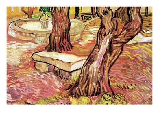 vincent-van-gogh-the-stone-bench-in-the-garden-of-saint-paul-hospital