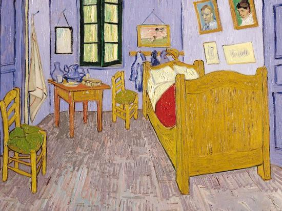 Van Gogh\'s Bedroom at Arles, 1889 Giclee Print by Vincent van Gogh ...