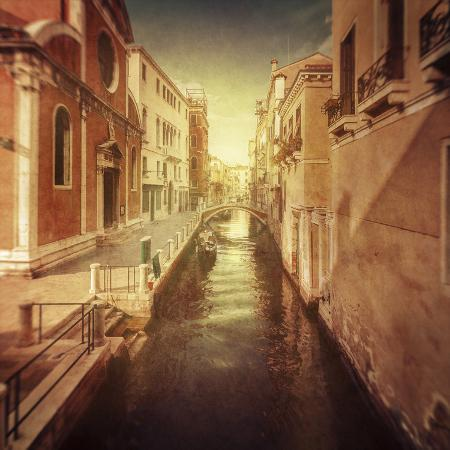vintage-shot-of-venetian-canal-venice-italy