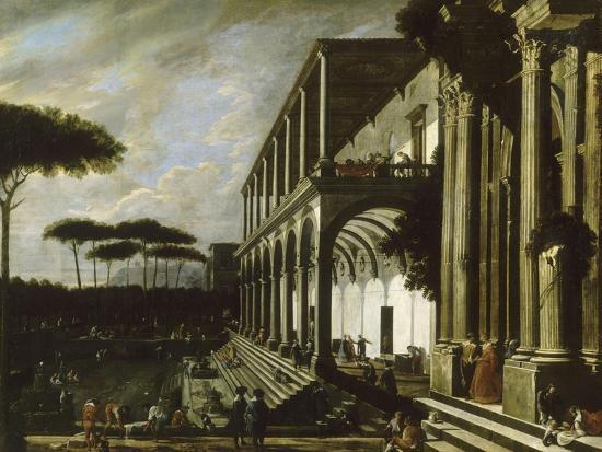 viviano-codazzi-fete-dans-le-jardin-d-un-palais-dit-portiques-de-deux-grands-edifices