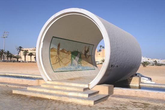 vivienne-sharp-great-man-made-river-monument-tripoli-libya-late-20th-century