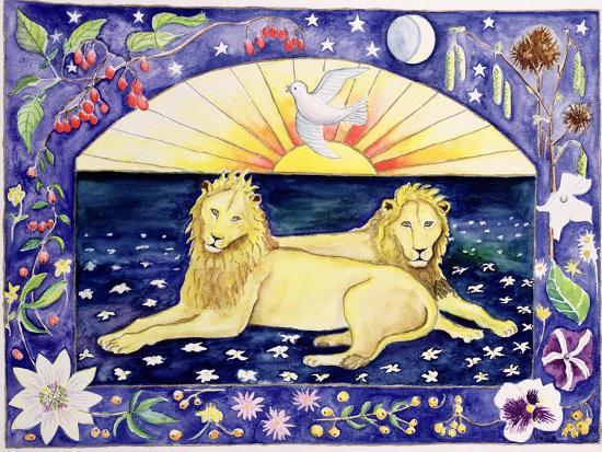 vivika-alexander-lions-month-of-december-from-a-calendar