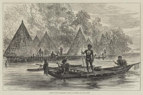voyage-of-hms-challenger-village-in-humboldt-bay-new-guinea