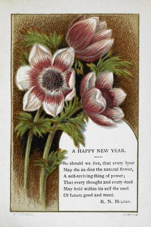 w-dickes-new-year-greetings-card-with-floral-decoration-and-poem-by-r-n-milnes