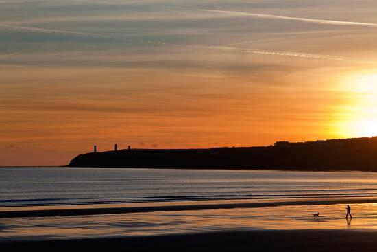 walking-the-dog-the-metal-man-on-newtown-head-tramore-county-waterford-ireland