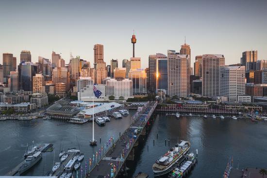 walter-bibikow-australia-sydney-darling-harbor-and-pyrmont-bridge-elevated-view