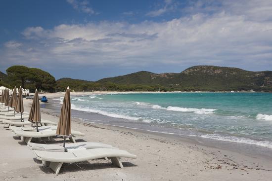 walter-bibikow-beach-lounge-chairs-porto-vecchio-corsica-france