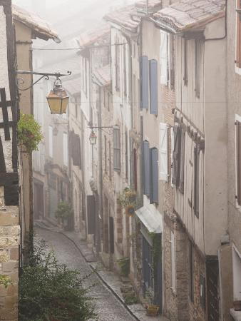 walter-bibikow-buildings-by-place-de-la-trinite-cordes-sur-ciel-tarn-department-midi-pyrenees-region-france