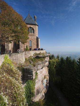 walter-bibikow-hilltop-convent-mont-ste-odile-alsace-region-bas-rhin-france