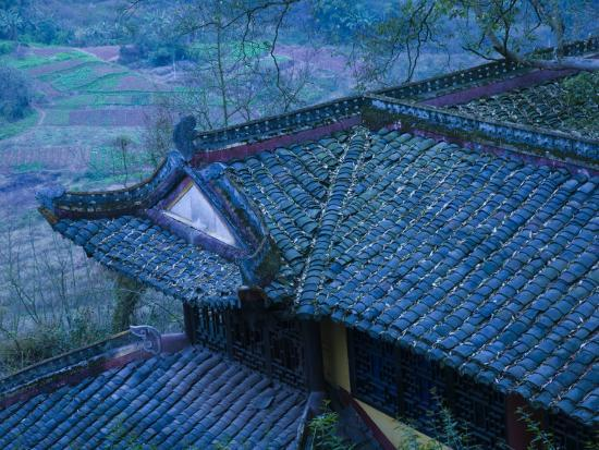 walter-bibikow-old-chinese-temple-roof-fengdu-chongqing-province-china