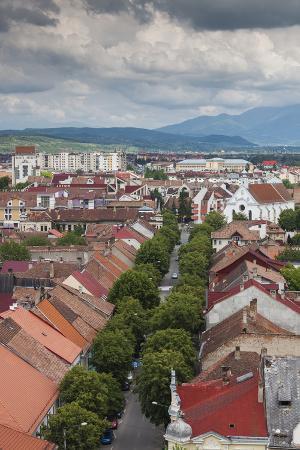 walter-bibikow-romania-transylvania-bistrita-view-from-the-evangelical-church