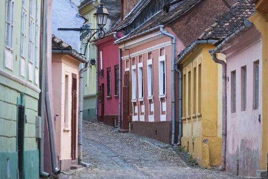 walter-bibikow-romania-transylvania-sighisoara-old-town-building-details
