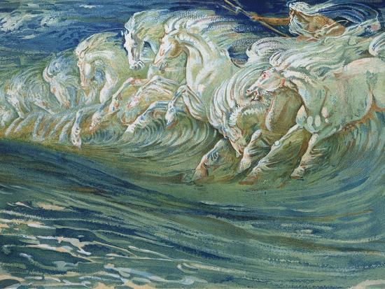 walter-crane-neptune-s-horses-illustration-for-the-greek-mythological-legend-published-in-london-1910