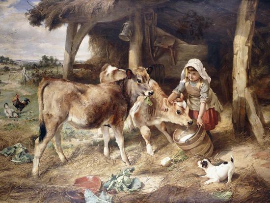 walter-hunt-the-weanlings-1889
