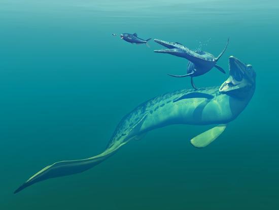 walter-myers-cretaceous-marine-predators-artwork