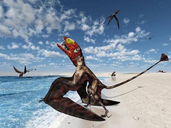 walter-myers-dimorphodons-hunting