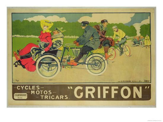 walter-thor-poster-advertising-griffon-cycles-motos-tricars