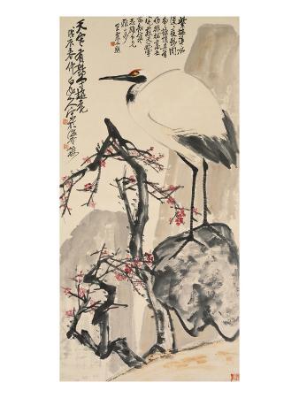 wang-zhen-crane-and-plum-blossoms