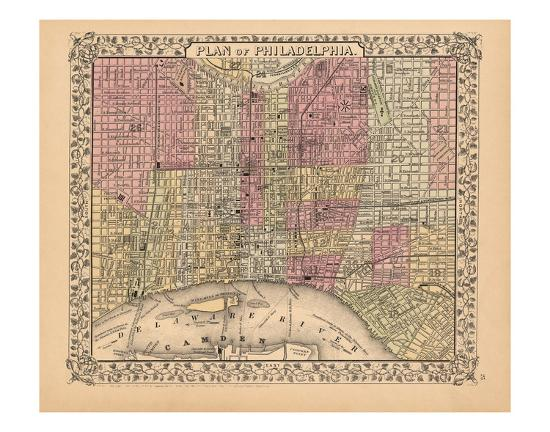 ward-maps-plan-of-philadelphia-1867
