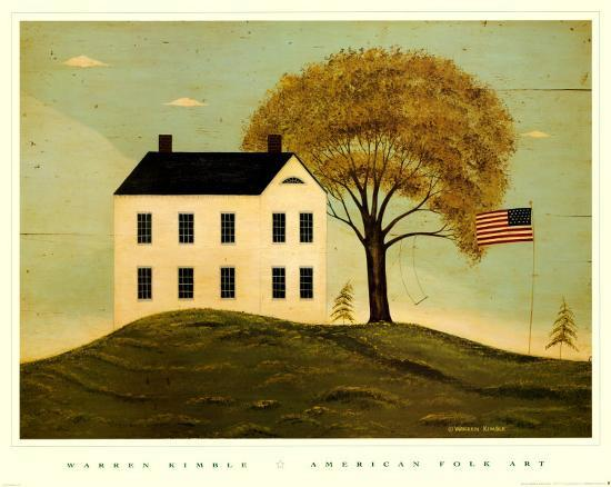 warren-kimble-house-with-flag