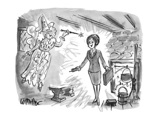 warren-miller-fairy-godmother-turns-cinderella-into-fashionable-business-suited-woman-w-new-yorker-cartoon