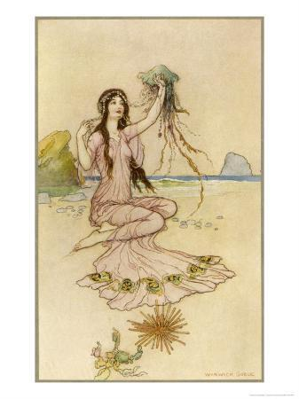 warwick-goble-fairy-by-the-sea