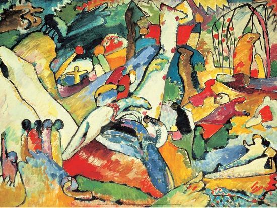 wassily-kandinsky-composition-ii-sketch-1910