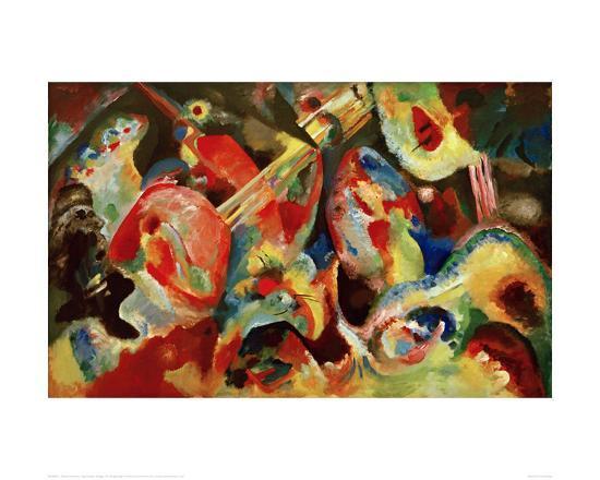 wassily-kandinsky-improvisation-deluge-1913