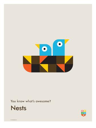 wee-society-you-know-what-s-awesome-nests-gray