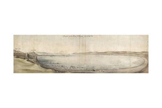 wenceslaus-hollar-prospect-of-the-bay-of-tangier-from-the-south-east-pen-and-brown-ink-and-watercolour-over-graphite