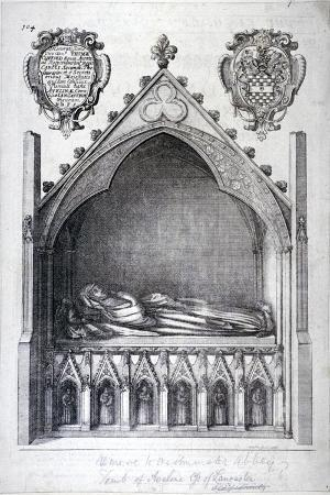 wenceslaus-hollar-the-tomb-of-avaline-countess-of-lancaster-westminster-abbey-london-1666