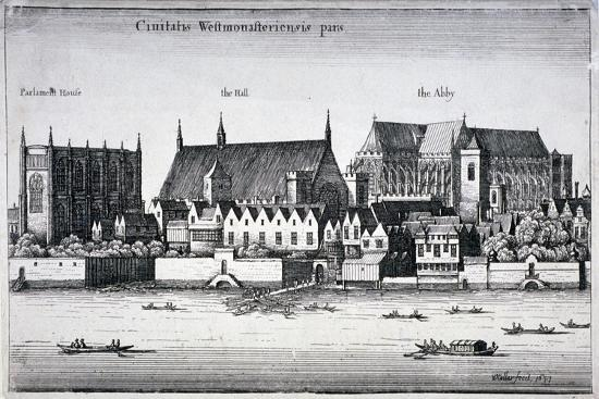 wenceslaus-hollar-westminster-abbey-and-the-palace-of-westminster-from-the-river-thames-london-1647