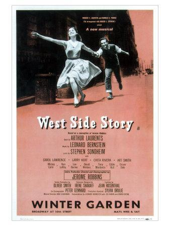 a report on west side story by arthur laurents