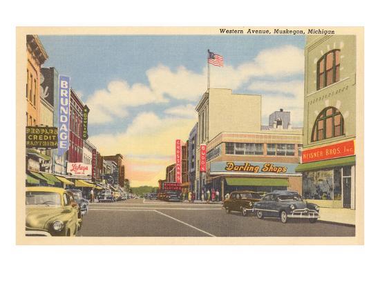 western-avenue-muskegon-michigan