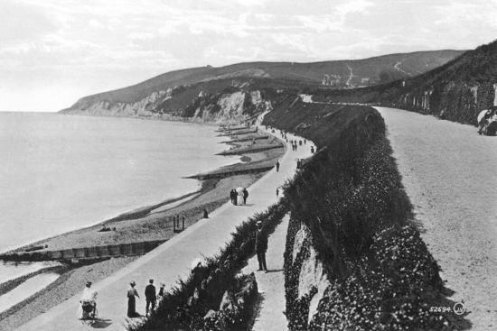 western-parade-eastbourne-east-sussex-early-20th-century