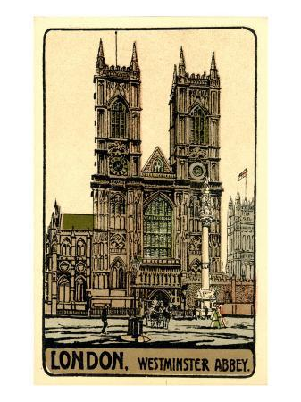 westminster-abbey-london-1930s