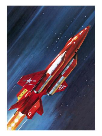 wilf-hardy-unidentified-nasa-rocket-plane