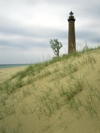 willard-clay-little-sable-point-lighthouse-oceana-county-mi