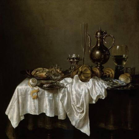 willem-claesz-heda-breakfast-with-a-lobster-dutch-painting-of-17th-century