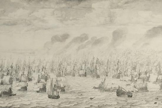 willem-van-de-velde-the-elder-the-battle-of-terheide-1657