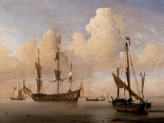 willem-van-de-velde-the-younger-seascape
