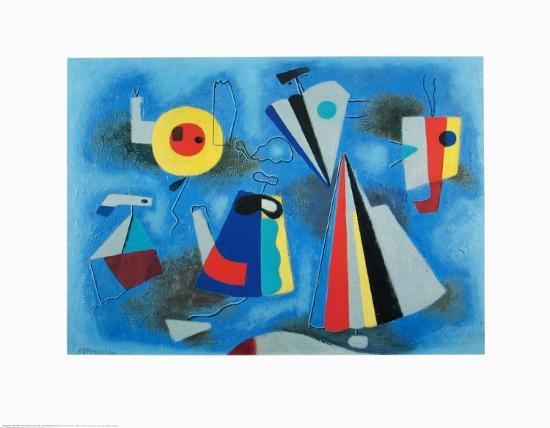 willi-baumeister-shapes-on-blue