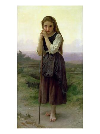 william-adolphe-bouguereau-a-little-shepherdess-1891