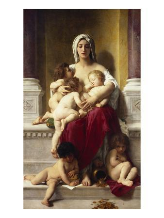 william-adolphe-bouguereau-charity-la-charite