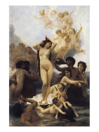 william-adolphe-bouguereau-the-birth-of-venus